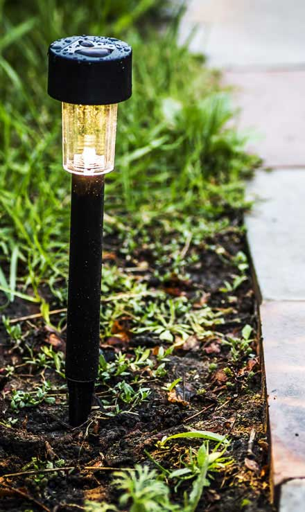 City Limits Landscaping & Snow Removal Commercial Landscape Lighting